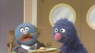Sesame Street: Grover Serves A Big Burger | Waiter Grover