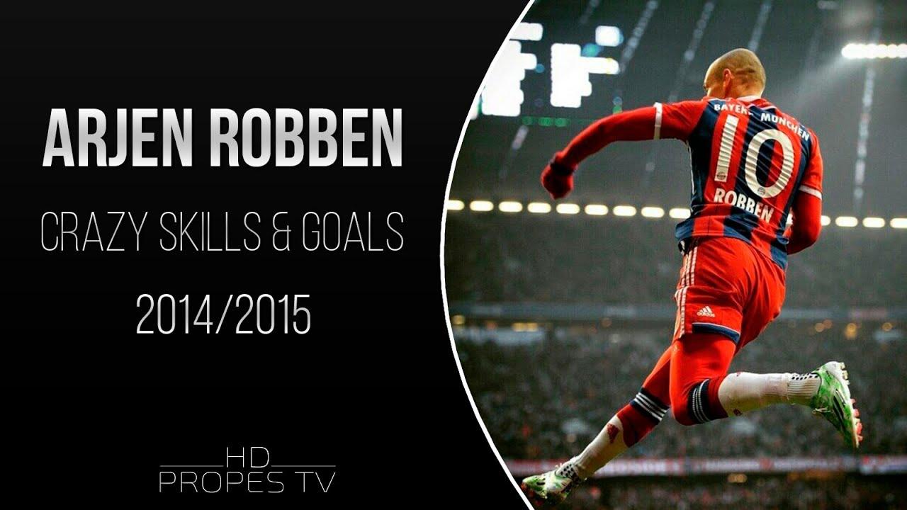 Arjen Robben Crazy Skills Goals 2014 2015 Youtube