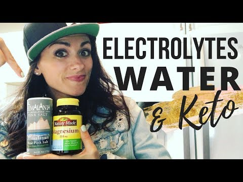 Electrolytes, Water & Keto | What You Need To Know | Carly Voinski