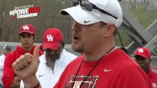 Houston Spring Football: Coach Tom Herman