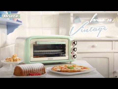 Ariete forno vintage 979 youtube - Forno elettrico con microonde ...