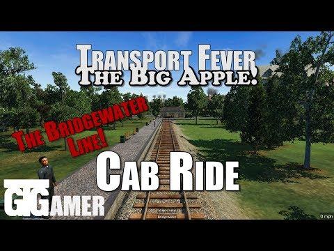 Cab Ride - Bridgewater To Manhattan Line FULL!! [Transport Fever]