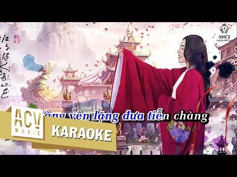 Karaoke  Thê Tử - Hương Ly ft Minh Vương M4U Beat Gốc