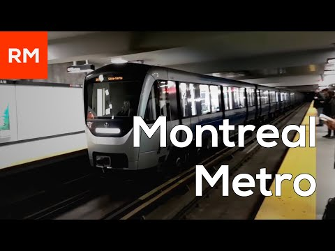 Montreal Metro - November 2017