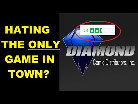 Many Employees HATE The ONLY Comic Distributor Left Standing; Diamond. Here's Why.