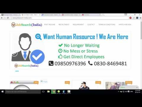 Job Search india, job search in pune, mumbai, delhi Job search sites