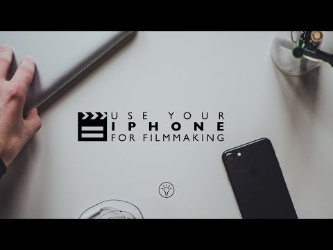 5 Ways To USE Your IPHONE For FILMMAKING (Filmic, Sunfollower, Evernote.. )