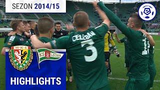 Śląsk Wrocław - Lechia Gdańsk 3:0 [skrót] sezon 2014/15 kolejka 28