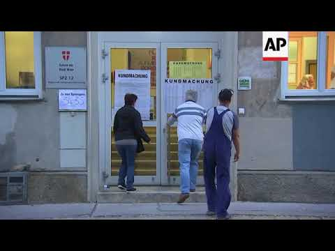 Voters go to polls in Austrian general election