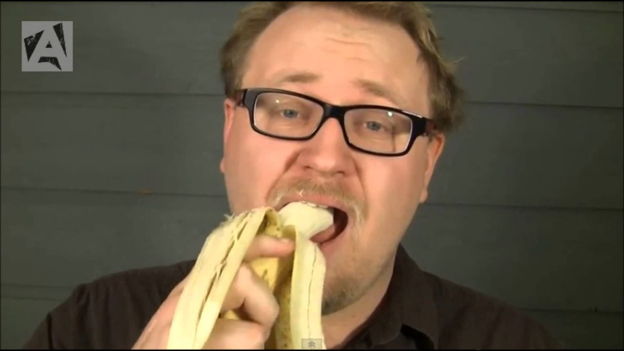 Amazing atheist banana video