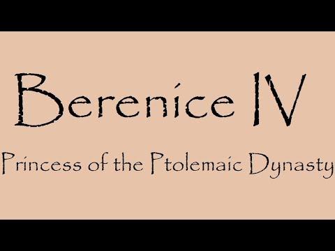 Egyptian History: Story of Berenice IV