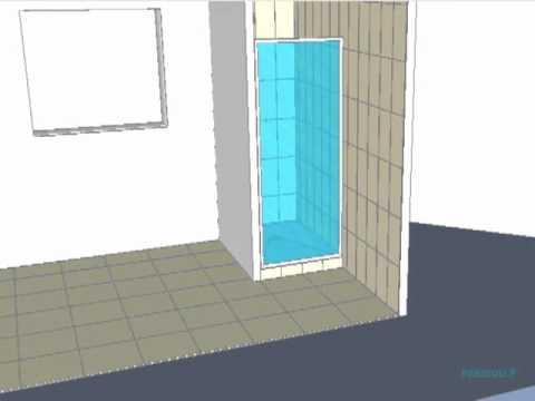 installation b ti support douche duofix doovi. Black Bedroom Furniture Sets. Home Design Ideas