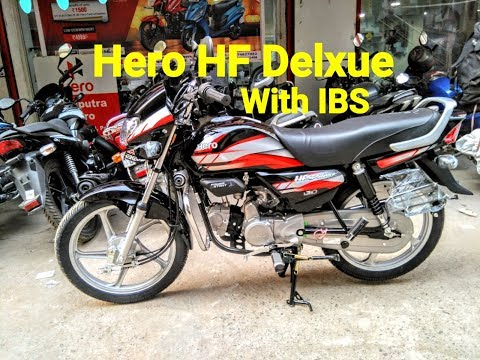 2019 Hero HF Deluxe With IBS Brake And i3s | PATNA BIKES
