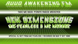 MC Fearless With DJ Niki Dimensions & MC Mirage | Ruud Awakening FM 104.3 | Drum & Bass 1999