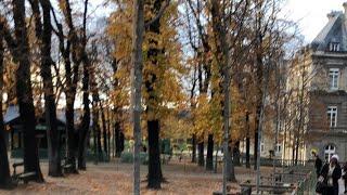 Outono no Jardim Luxemburgo