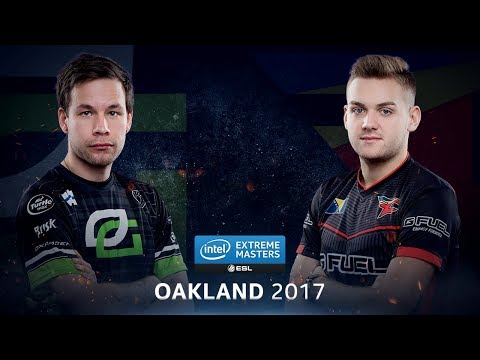 CS:GO - OpTic vs. FaZe [Overpass] - Group B Round 2 - IEM Oakland 2017