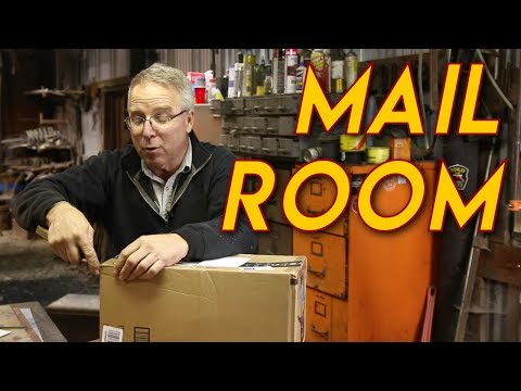 Mail VLOG: Decals, Old Nancy, Tool Bag,  and an Anvil to Repair