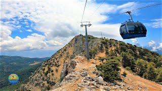 Ölüdeniz Babadağ TeleferikCable Car Round Trip  N Fethiye Turkey June 15 2021 - 4K