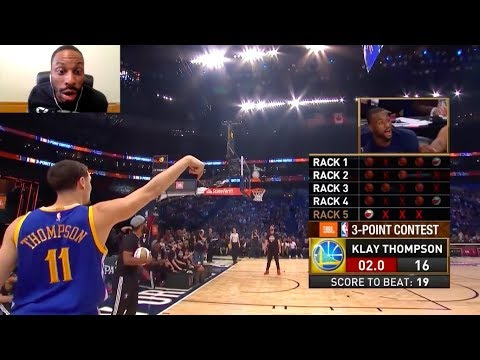 NBA 2017 All-Star Weekend Three Point Contest Reaction! Kyrie! Klay! Eric Gordon! Swaggy P!