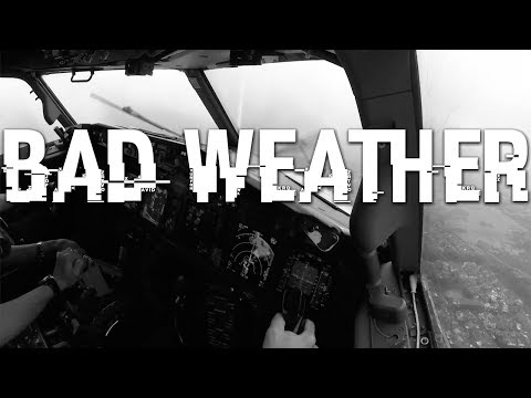 FERRY FLIGHT + BAD WEATHER
