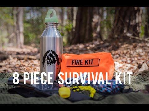 8 Piece Survival Kit