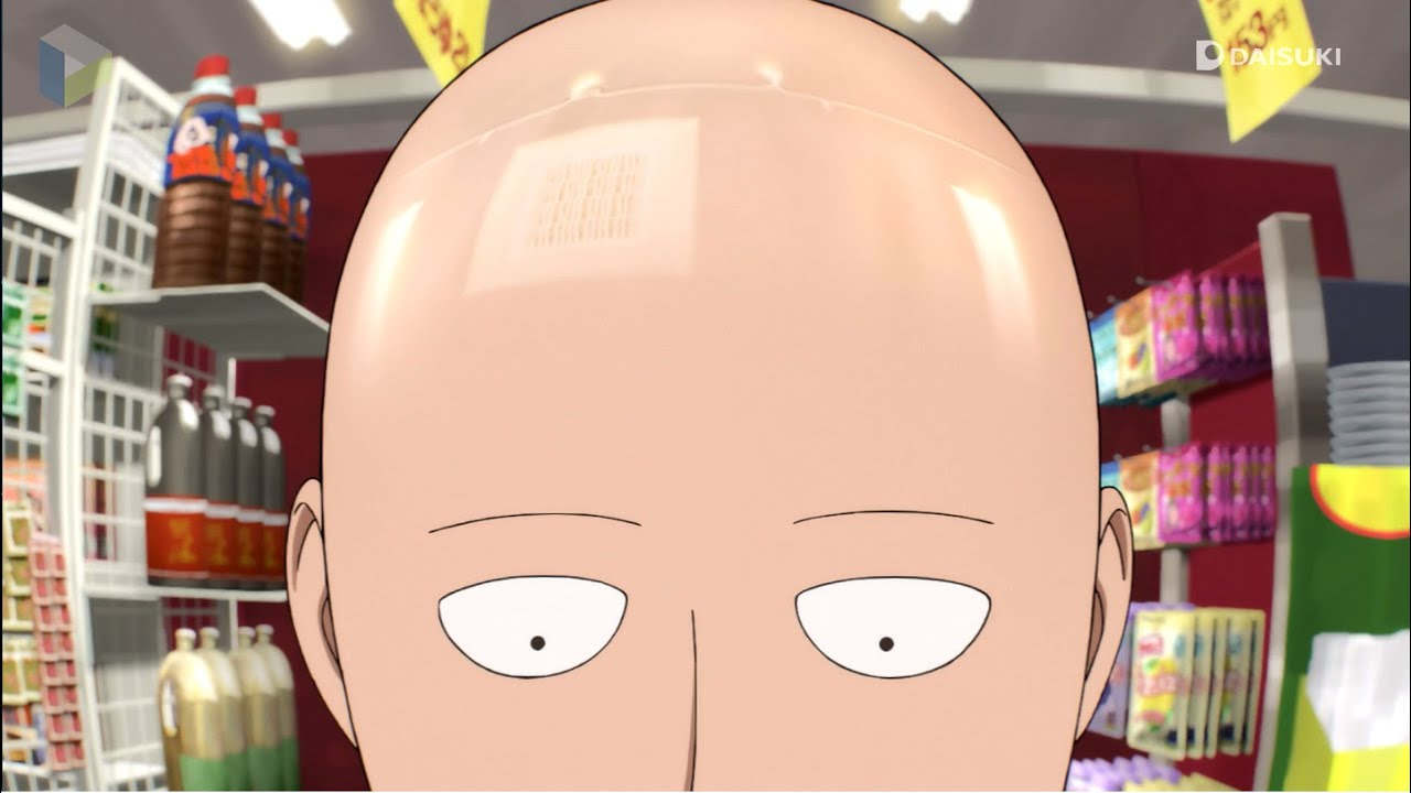 6 Anime Characters Who Can Challenge Saitama : Amv saitama buys groceries youtube
