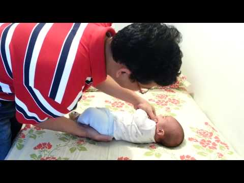 How to calm a crying baby Instantly -  The Hold Move