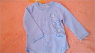 Покупки для новорожденного. Обзор Боди ТМ Бемби БД59а