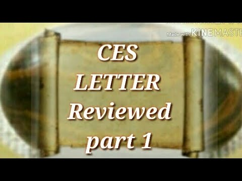 mormon ces letter ces letter reviewed part 1 mormon book of 23692 | hqdefault