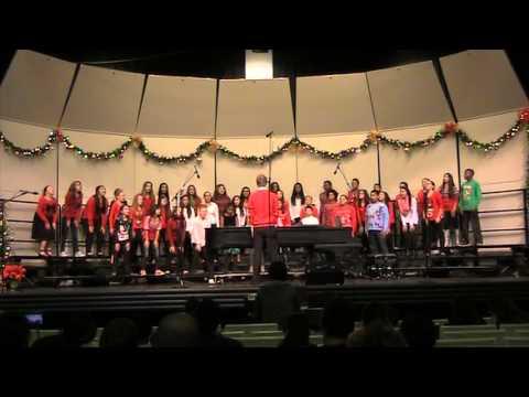 Estacado Middle School 6th Grade Mixed Choir- Frosty the Snowman