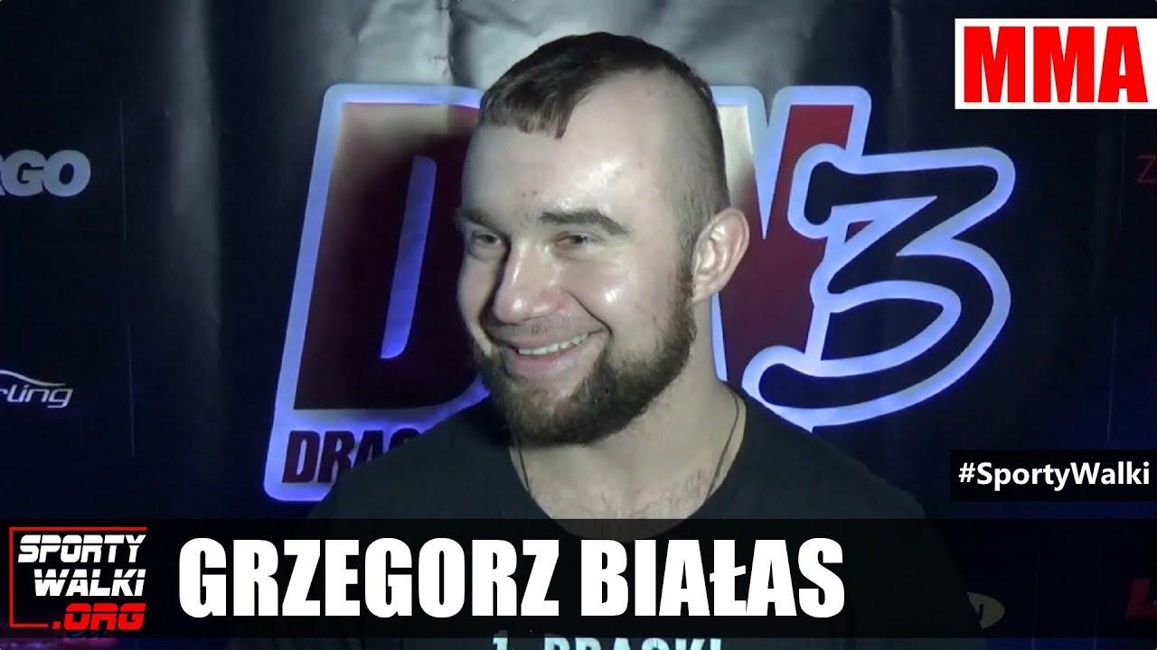 Grzegorz Białas przed Dragon Fight Night 3