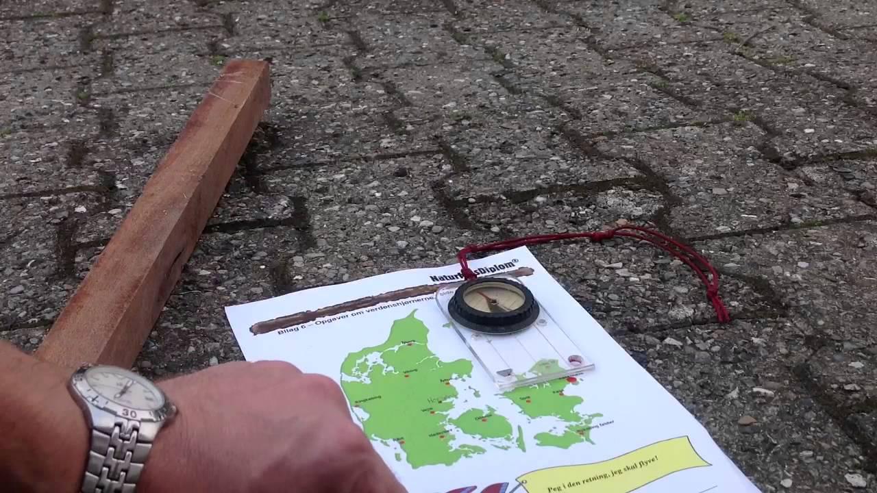 Guide Til Basal Kort Og Kompas Youtube