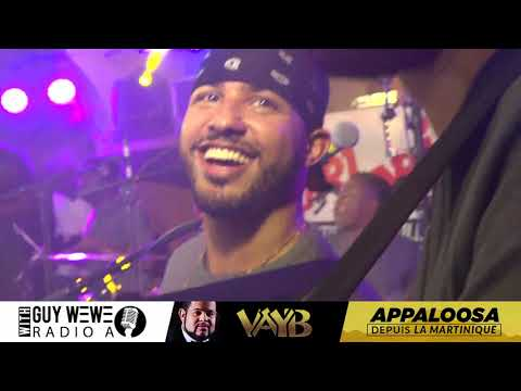 VAYB LIVE- RALENTI LIVE PERFORMANCE IN MARTINIQUE 7 MAI 2018