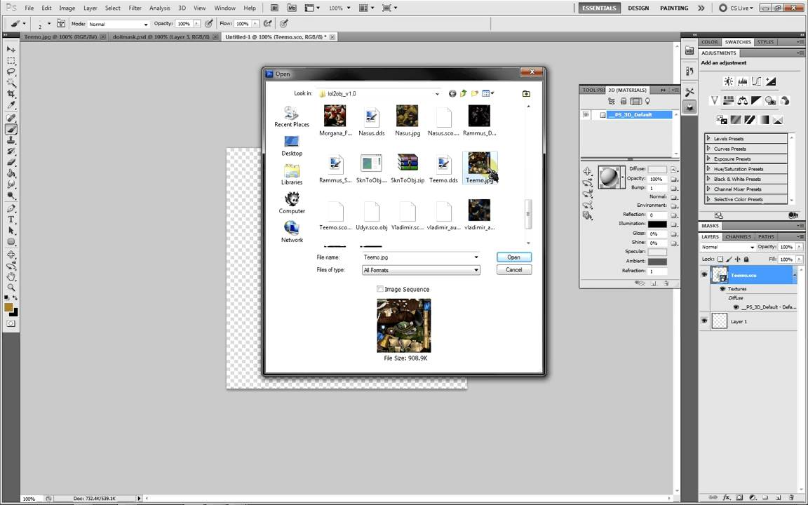 how to open raw files in photoshop cs5