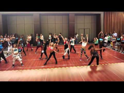 Brian Friedman - Live It Up by Jennifer Lopez feat. Pitbull - Pulse On Tour NYC Proteges & Selects