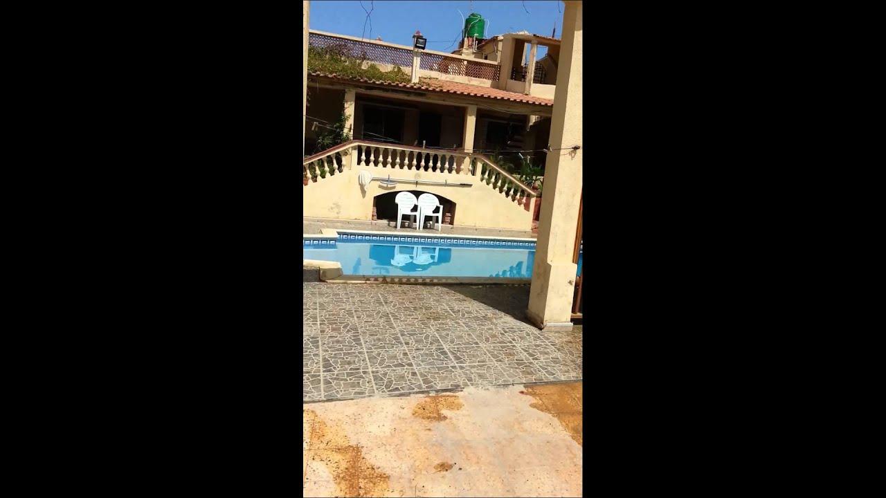 Villa avec piscine vue ext rieur oran bousfer youtube for Recherche villa avec piscine