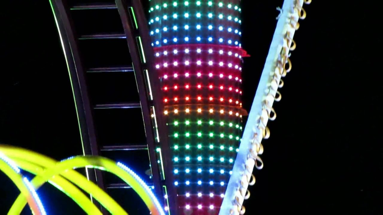 Mission Space verlichting. - YouTube