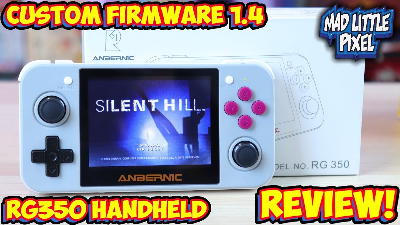 The Retro Game 350 With Custom Firmware Emulation Handheld Review Rg350