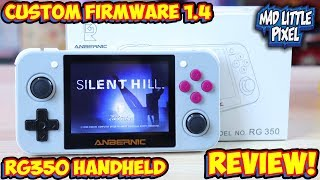 The Retro Game 350 With Custom Firmware Emulation Handheld Review! RG350