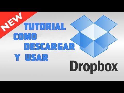 TUTORIAL: Cómo descargar y usar Dropbox