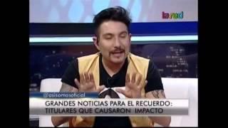 """Felipe Avello presenta """"noticias del recuerdo"""": hechos que dejaron huella en los chilenos"""