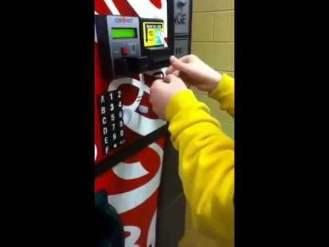 How to hack a vending machine!!!