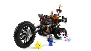 The LEGO Movie 2 Set 70834 - EisenBarts Heavy-Metal-Trike! / Review