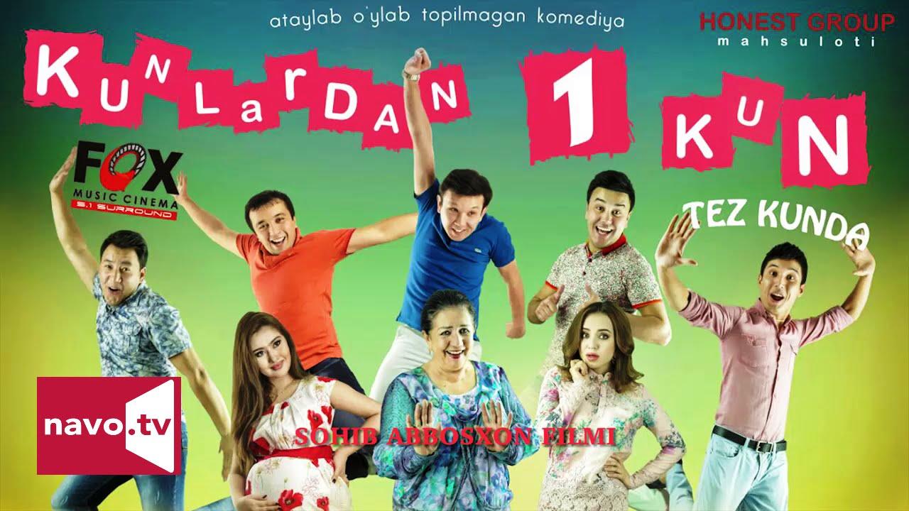 Kunlardan 1 kun (uzbek kino) (treyler) | Кунлардан 1 кун