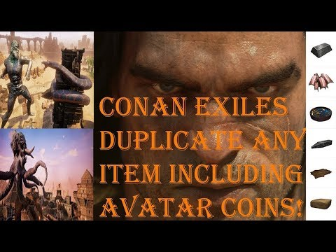 Conan Exiles: How To Duplicate Anything! All Platforms