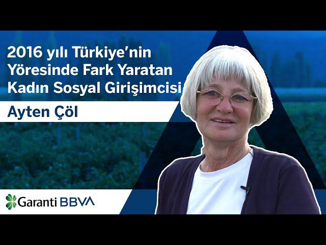 2016 Y?l? Türkiyenin Yöresinde Fark Yaratan Kad?n Giri?imcisi: Ayten Çöl