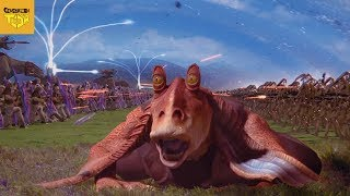 Everything Wrong With the BATTLE OF NABOO