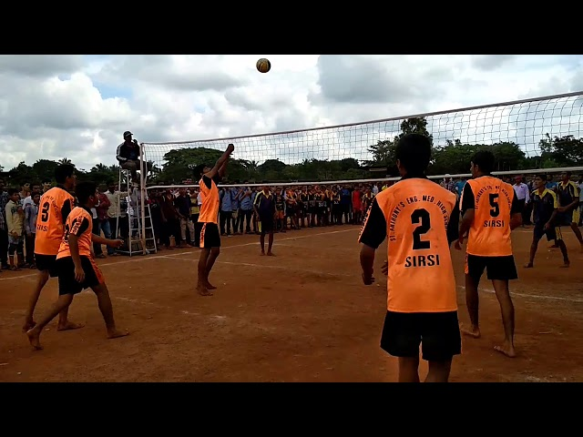 Don bosco sirsi state level volleyball team