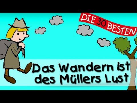 Das Wandern ist des Müllers Lust - Traditionelle Kinderlieder || Kinderlieder