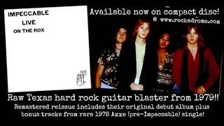 Impeccable - Seashore  - 1979 Texas hard rock